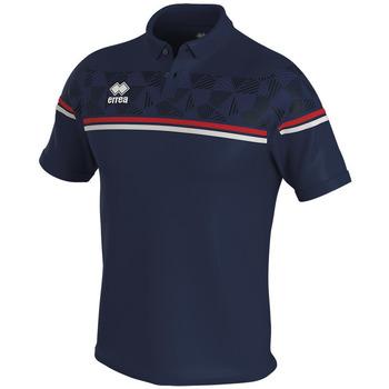 Vêtements Polos manches courtes Errea Polo  dominic bleu/marine/blanc