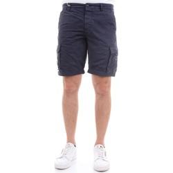 Vêtements Homme Shorts / Bermudas 40weft NICK 5035 Bermudes homme Bleu Bleu