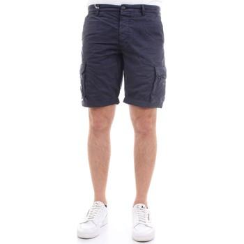 Vêtements Homme Shorts / Bermudas 40weft NICK 5035 Bleu