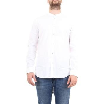 Vêtements Homme Chemises manches longues Manuel Ritz 2832E604L 203245 blanc