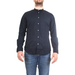 Vêtements Homme Chemises manches longues Manuel Ritz 2832E604L 203245 bleu
