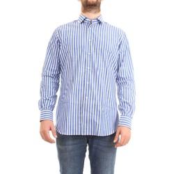 Vêtements Homme Chemises manches longues Xacus 61201.002 Chemise homme céleste céleste