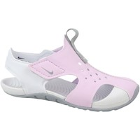 Chaussures Enfant Baskets basses Nike Sunray Protect 2 PS Blanc,Rose