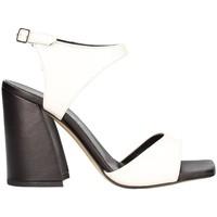 Chaussures Femme Sandales et Nu-pieds Aurora Paris Ted5004 santal Femme blanc noir blanc noir