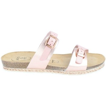 Chaussures Femme Mules Amoa Sandales Garigues à enfiler ROSE