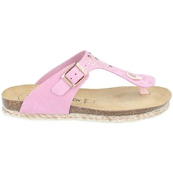 Chaussures Femme Tongs Amoa Sandales Gaujac à enfiler ROSE