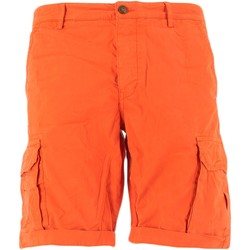 Vêtements Homme Shorts / Bermudas 40weft NICK bermudes homme Orange Orange