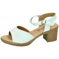 Chaussures Femme Sandales et Nu-pieds Fanny Valero  Blanc