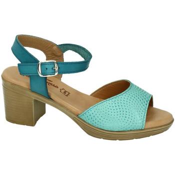 Chaussures Femme Sandales et Nu-pieds Fanny Valero  Bleu
