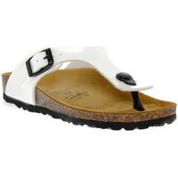 Chaussures Garçon Tongs Gold Star BIANCO VERNICE Bianco