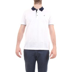 Vêtements Homme Polos manches courtes Navigare NV72037 polo homme blanc blanc