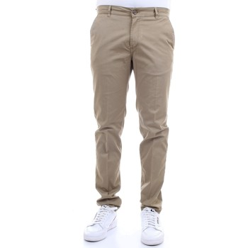 Vêtements Homme Chinos / Carrots Camouflage CHINOS REY 17 ZIP F47 Beurre