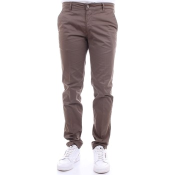Vêtements Homme Chinos / Carrots Camouflage CHINOS REY 17ZIP marron