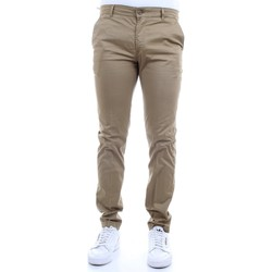 Vêtements Homme Chinos / Carrots Camouflage CHINOS REY 17ZIP beurre