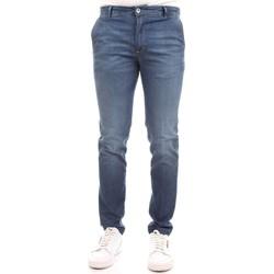 Vêtements Homme Jeans slim Camouflage D11 A385 Bleu