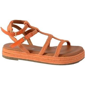 Chaussures Femme Sandales et Nu-pieds The Divine Factory Sandales TDF4101 Orange