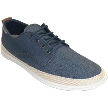 Chaussures Homme Chaussons Muro Sneaker en toile de chanvre à lacets pou azul
