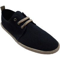 Chaussures Homme Chaussons Calzamur Baskets homme lacets chanvre bord semell azul