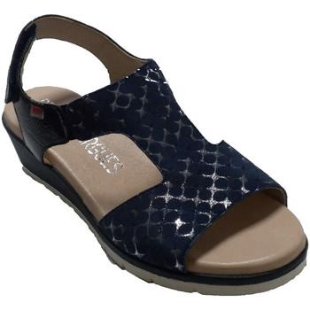 Chaussures Femme Sandales et Nu-pieds Pepe Menargues Sandale d'été femme  en bl azul