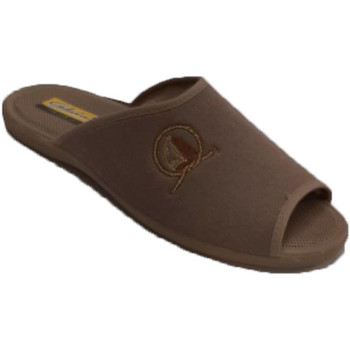 Chaussures Homme Chaussons Aguas Nuevas Tongs d'été à bout ouvert et talon pour beige