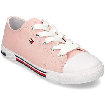 Chaussures Fille Baskets basses Tommy Hilfiger T3A4306050890302 Rose
