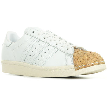Chaussures Femme Baskets basses adidas Originals Superstar 80s Cork blanc