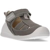 Chaussures Enfant Sandales et Nu-pieds Biomecanics Sandales  CANVAS BABY AZAI GRIS
