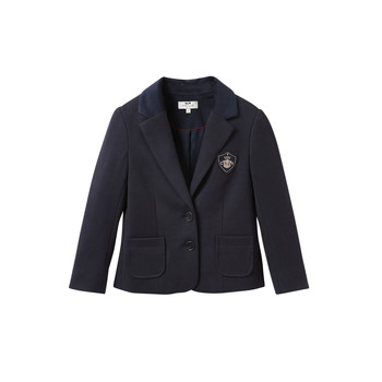 Vêtements Fille Vestes / Blazers Cyrillus  4593184 Bleu
