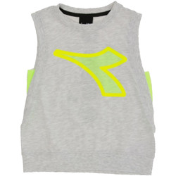 Vêtements Garçon Débardeurs / T-shirts sans manche Diadora - T-shirt grigio 022785-107 GRIGIO