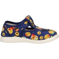 Chaussures Garçon Derbies Coccole - Occhio di bue  blu 125 SMILE BLU