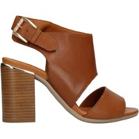 Chaussures Femme Chaussures aquatiques Keys - Sandalo cuoio K-1981 MARRONE