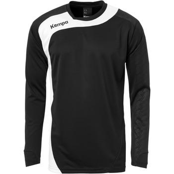 Vêtements Homme T-shirts & Polos Kempa Maillot manches longues  Peak noir/blanc