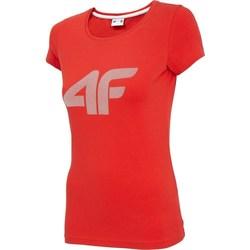 Vêtements Femme T-shirts manches courtes 4F TSD005 Rouge