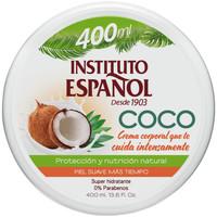Beauté Hydratants & nourrissants Instituto Español Coco Crema Corporal Super Hidratante  400 ml