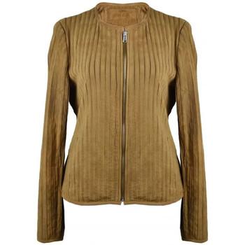 Vêtements Femme Vestes en cuir / synthétiques Zerimar QUINOA Marron