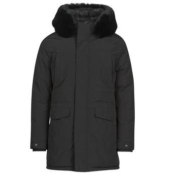 Vêtements Homme Parkas Casual Attitude NAFFO Noir