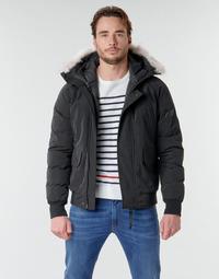 Vêtements Homme Doudounes Casual Attitude NIFFO Noir