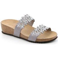 Chaussures Femme Mules Grunland DSG-CB2476 ARGENTO