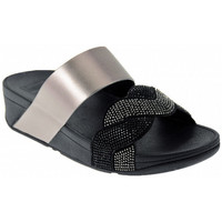 Chaussures Femme Mules FitFlop PAISLEY ROPE SLIDES Sandales Multicolore