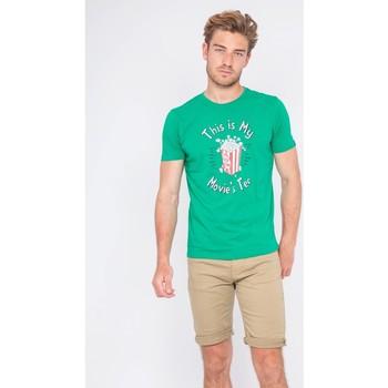 Vêtements Homme T-shirts manches courtes Ritchie T-shirt col rond pur coton NORWIN Vert