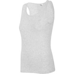 Vêtements Femme Débardeurs / T-shirts sans manche 4F TSD003 Gris