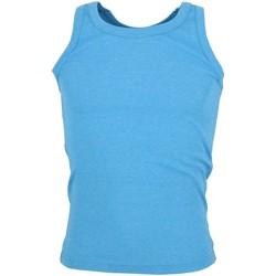 Vêtements Homme Débardeurs / T-shirts sans manche La Maison Blaggio Docker trq mel debardeur Turquoise