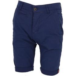 Vêtements Homme Shorts / Bermudas La Maison Blaggio Venili bleu ch short Bleu marine / bleu nuit