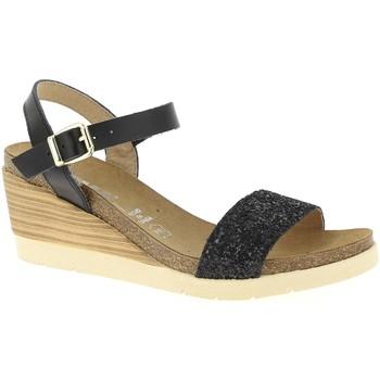 Chaussures Femme Sandales et Nu-pieds Emma 20419 Noir