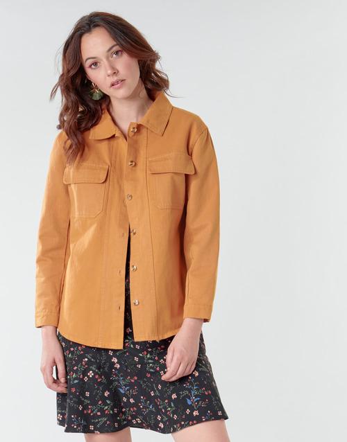 Vêtements Femme Vestes / Blazers Betty London NISOI Cognac