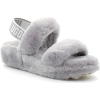 Chaussures Femme Chaussons UGG oh yeah Gris