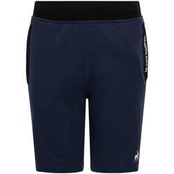 Vêtements Enfant Shorts / Bermudas Le Coq Sportif Ess Short Regular N bleu