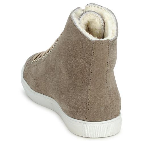 Baskets Chaussures Montone Suede Swamp Montantes Gris 92DEHI