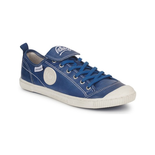 Baskets mode Pataugas BROOKS Bleu 350x350