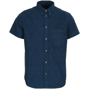 Vêtements Homme Chemises manches courtes Paul Smith SS classic fit shirt bleu
